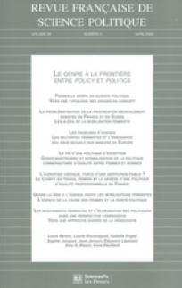 Revue française de science politique 2009/2