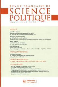 Revue française de science politique 2010/3