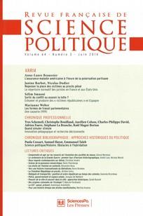 Revue française de science politique 2014/3