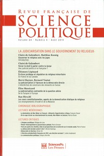 Revue française de science politique 2014/4