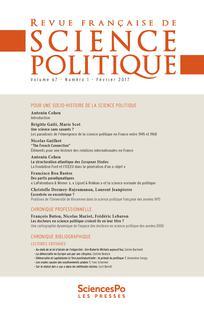 couverture de RFSP_671