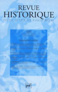 Revue historique 2003/1