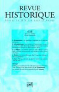 Revue historique 2006/2