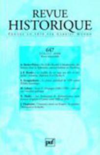 Revue historique 2008/3