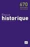 couverture de Revue historique 2014 - n° 670