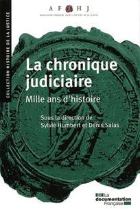 Histoire de la justice 2010/1