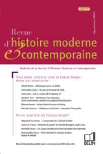 Revue d'histoire moderne et contemporaine 2004/5