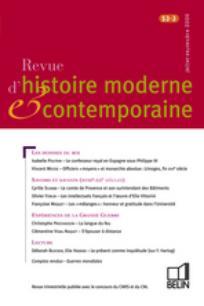 Revue d'histoire moderne et contemporaine 2006/3