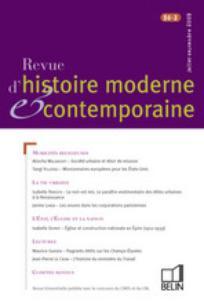 Revue d'histoire moderne & contemporaine 2009/3