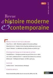 Revue d'histoire moderne et contemporaine 2011/1