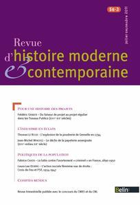 Revue d'histoire moderne et contemporaine 2011/3