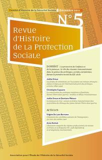 Revue d'histoire de la protection sociale 2012/1
