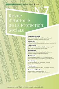 Revue d'histoire de la protection sociale 2014/1