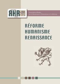 Réforme, Humanisme, Renaissance