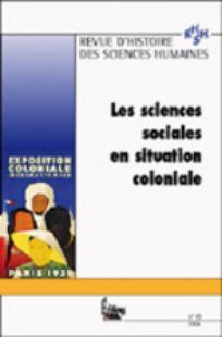 Revue d'Histoire des Sciences Humaines 2004/1