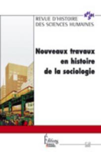 Revue d'Histoire des Sciences Humaines 2005/2