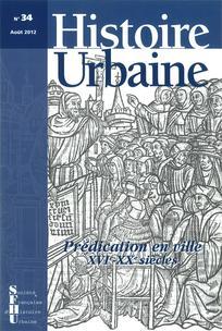 Histoire urbaine 2012/2
