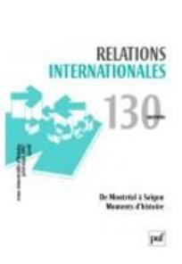 Relations internationales  2007/2
