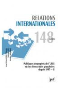 Relations internationales  2011/4
