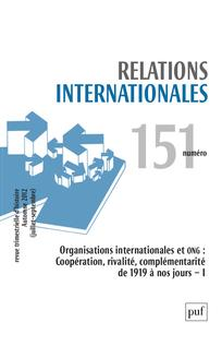 Relations internationales 2012/3