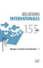 couverture de Musique et relations internationales - I