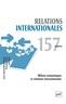 couverture de Milieux économiques et relations internationales