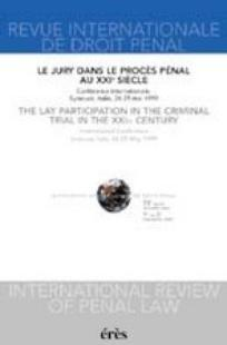Revue internationale de droit pénal 2001/1
