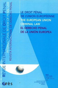 Revue internationale de droit pénal 2006/1