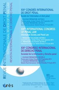 Revue internationale de droit pénal
