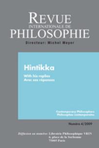 Revue internationale de philosophie 2009/4