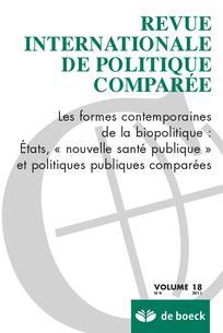 Revue internationale de politique comparée 2011/4