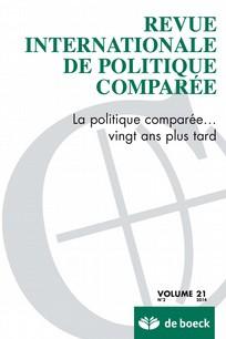 Revue internationale de politique comparée 2014/2
