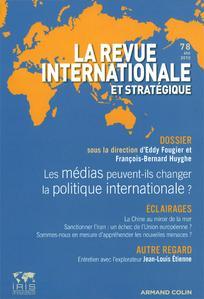 Revue internationale et stratégique 2010/2