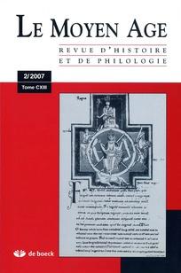 Le Moyen Age 2007/2