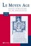 couverture de Le Moyen Age 2013/3-4