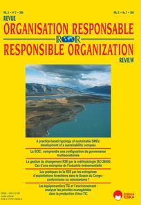 Revue de l'organisation responsable