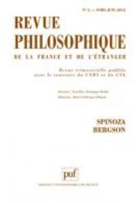 Revue philosophique de la France et de l'étranger 2012/2