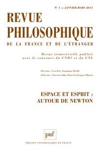 Revue philosophique de la France et de l'étranger 2014/1