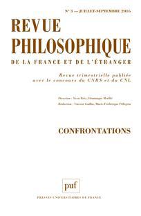 Revue philosophique de la France et de l'étranger