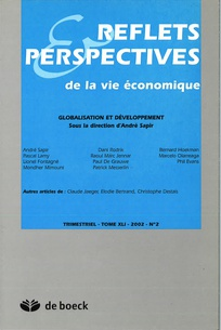 Reflets et perspectives de la vie économique 2002/2