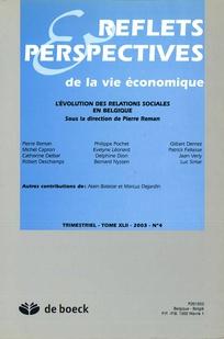 Reflets et perspectives de la vie économique 2003/4