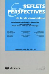 Reflets et perspectives de la vie économique 2006/2