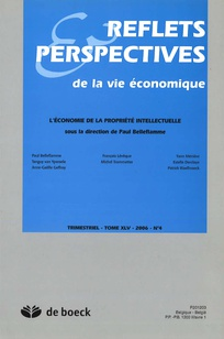 Reflets et perspectives de la vie économique 2006/4