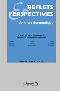 Reflets et perspectives de la vie économique