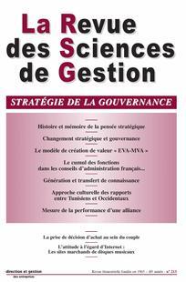 La Revue des Sciences de Gestion 2005/3