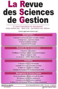 La Revue des Sciences de Gestion 2007/4