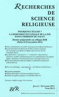 couverture de RSR_113