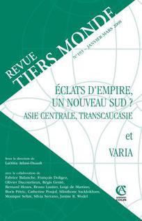 Revue Tiers Monde 2008/1