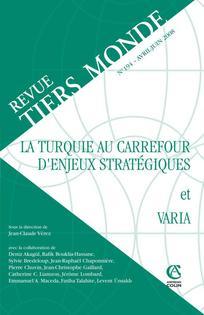 Revue Tiers Monde 2008/2