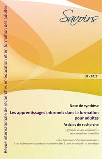 Savoirs 2013/2